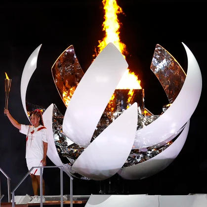 The 2020 Tokyo Olympics hydrogen flame